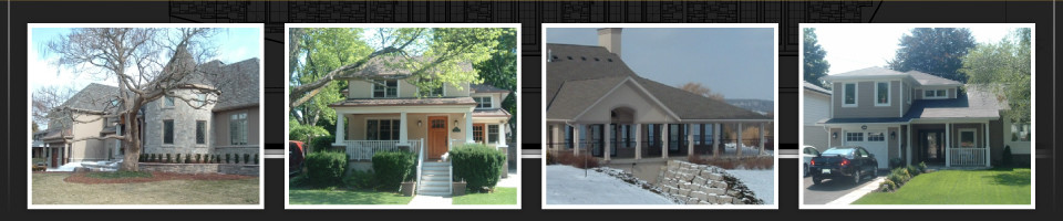 Montage of renovated homes 3